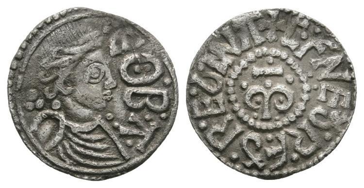 Anglo-Saxon Coins - Cynethryth - Eoba - Portrait Penny