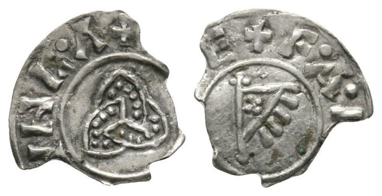Viking Coins - Hiberno-Norse - Anlaf Sihtricsson - York / Farman - Triquetra-Standard Penny