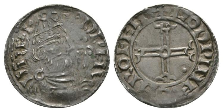 Anglo-Saxon Coins - Edward the Confessor - Rochester / Godwine - Pointed Helmet Penny