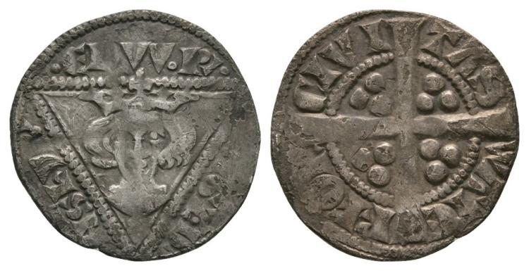 World Coins - Ireland - Edward I - Waterford - Penny