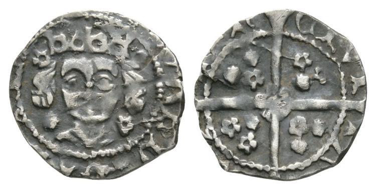 World Coins - Ireland - Edward IV - Dublin - Variant Sun and Rose Penny