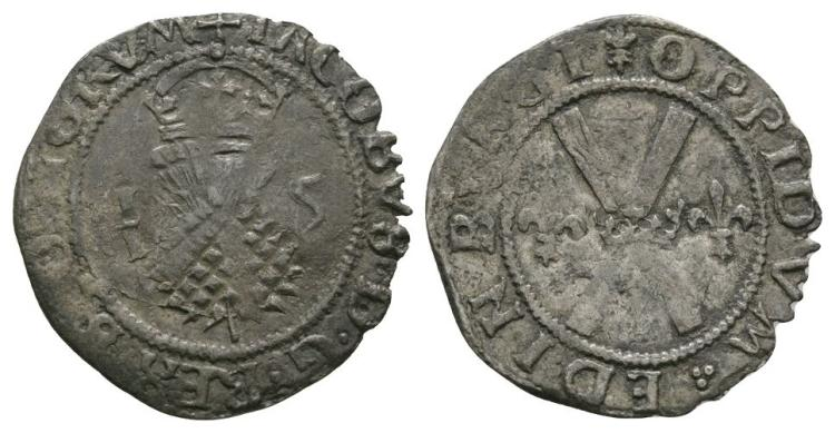 World Coins - Scotland - James V - Bawbee