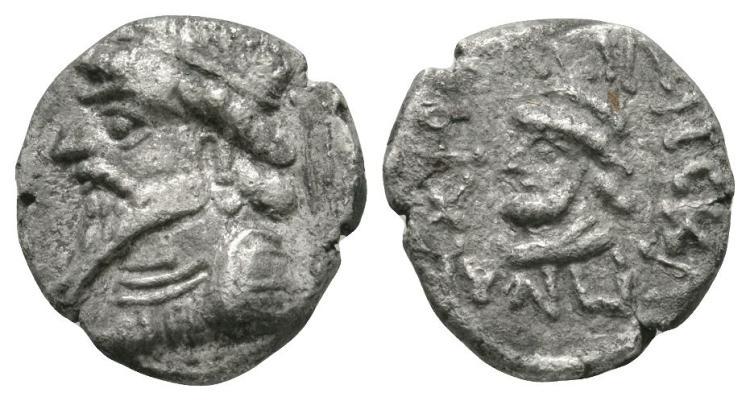World Coins - Kingdom of Elymais - Kamnaskires III - Double Portrait Drachm