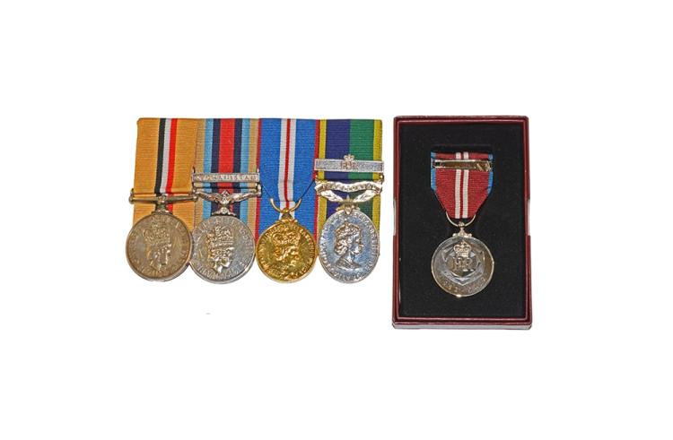 British Military Medals - Elizabeth II - Iraq, OSM and Others Group (Cpl. J E Corish, RLC) [5]