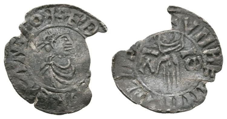 Anglo-Saxon Coins - Aethelred II - Lincoln / Unbein - First Hand Penny