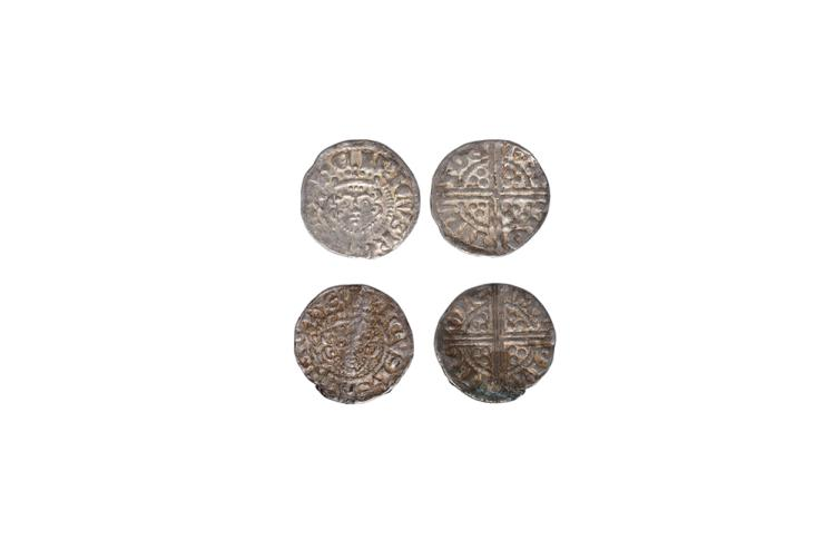 English Medieval Coins - Henry III - London - Long Cross Pennies [2]
