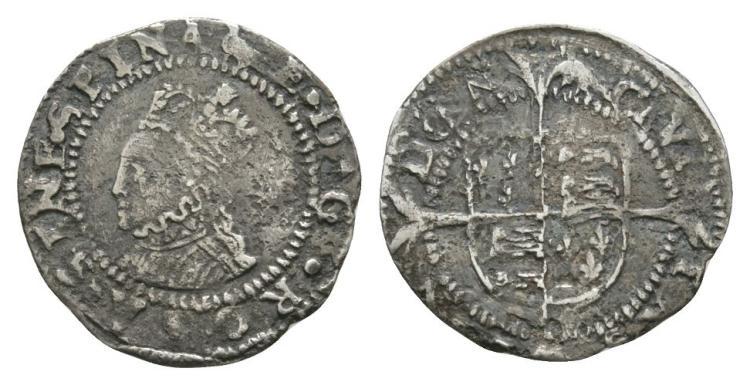 English Tudor Coins - Elizabeth I - Penny