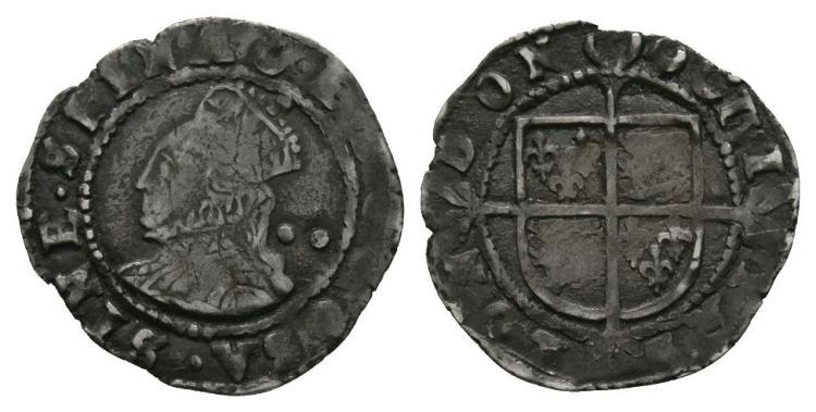 English Tudor Coins - Elizabeth I - 1600 - Halfgroat
