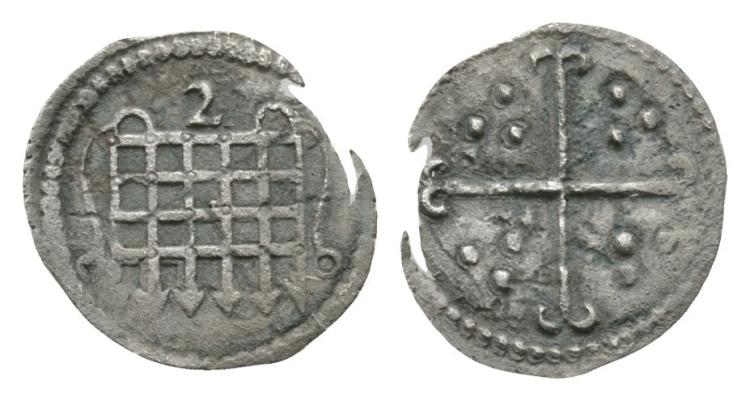 English Tudor Coins - Elizabeth I - 1602 - Halfpenny