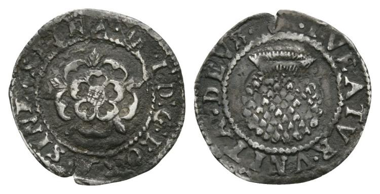 English Stuart Coins - James I - Thistle Penny