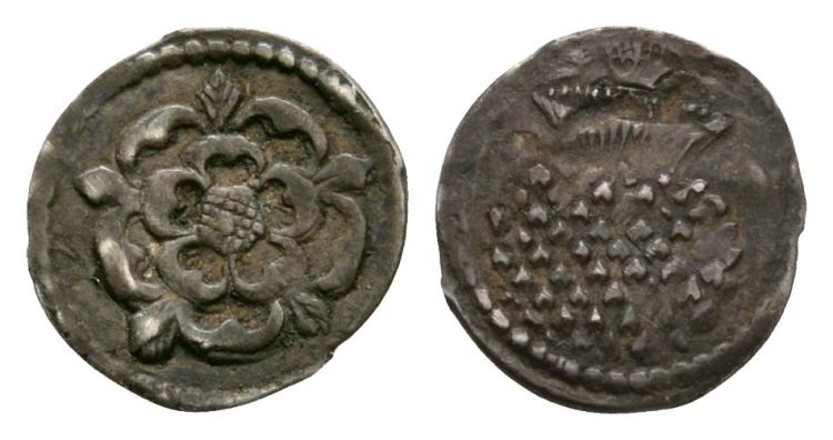 English Stuart Coins - James I - Halfpenny
