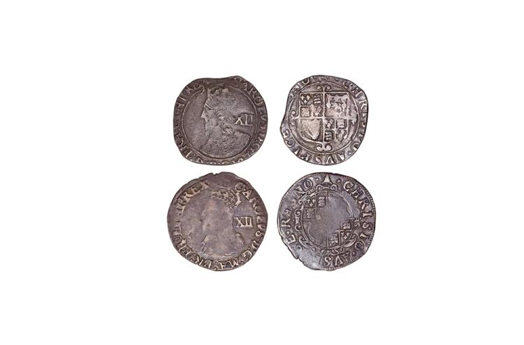 English Stuart Coins - Charles I - Tower - Shillings [2]