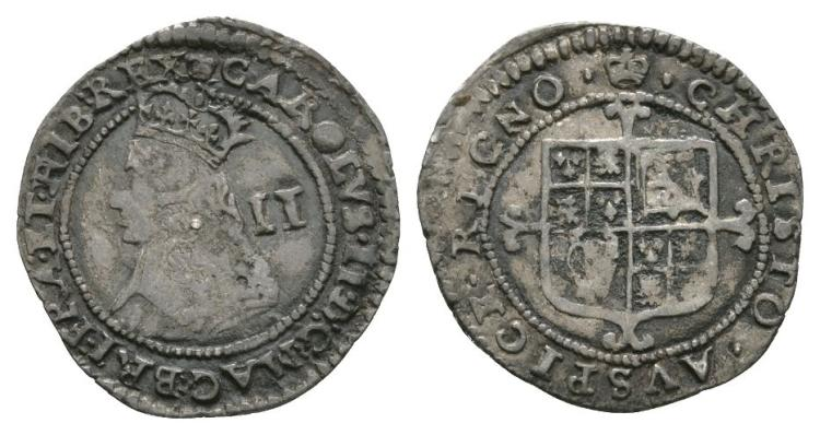 English Stuart Coins - Charles II - Hammered Halfgroat