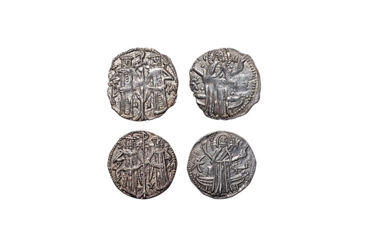 World Coins - Bulgaria - Ivan Alexander and Michael Asen IV - Grosches [2]