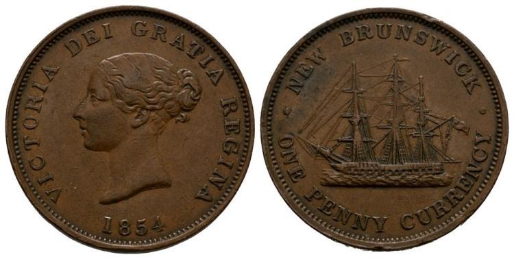 World Coins - Canada - New Brunswick - Penny Token