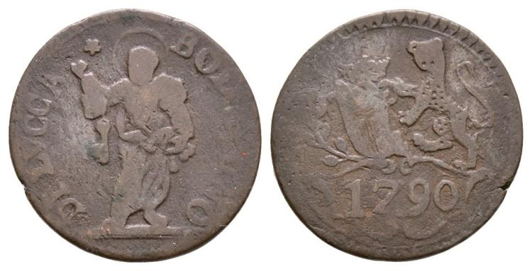 World Coins - Italy - Lucca - 1790 - Bolognino (2 Soldi)