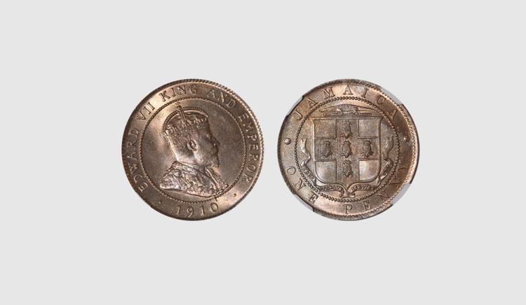 World Coins - Jamaica - 1910 - Penny