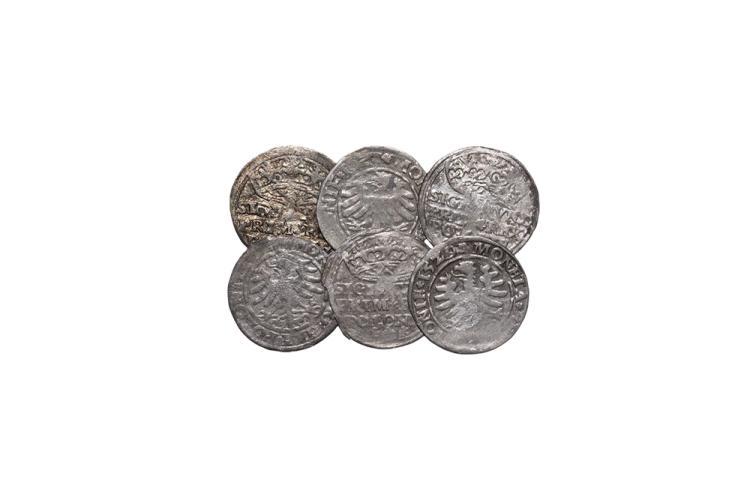 World Coins - Poland - Sigismund I - Groschen Group [6]