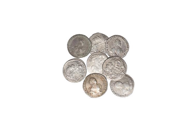 World Coins - Russia - Elizabeth - 1744-1754 - 10 Kopeks [8]