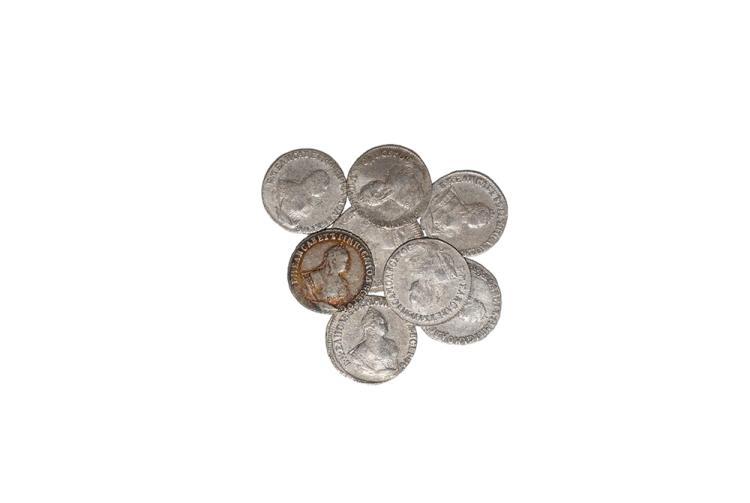 World Coins - Russia - Elizabeth - 1742-1754 - 10 Kopeks [8]