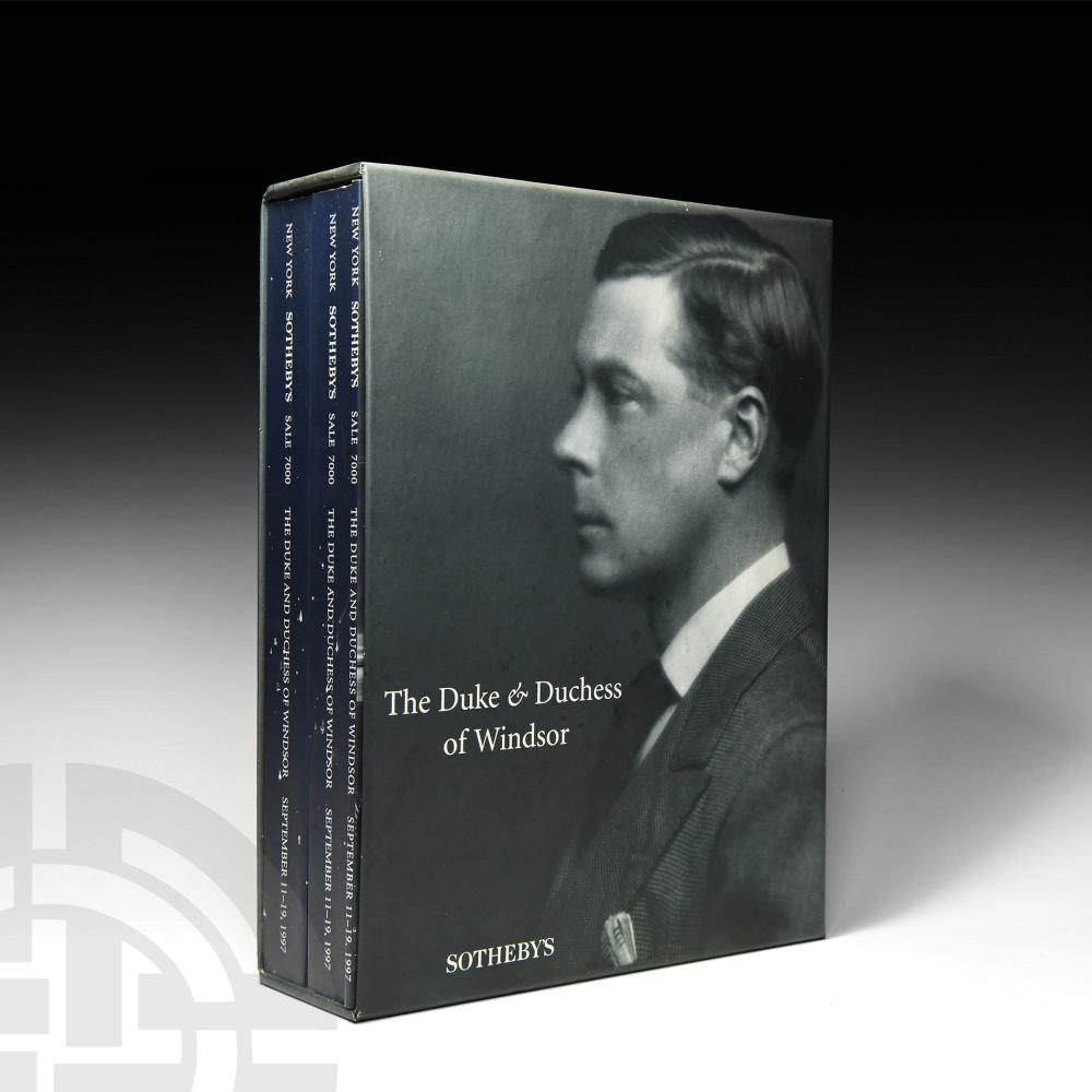 Sotheby's - Duke and Duchess of Windsor Sale Set [3]
