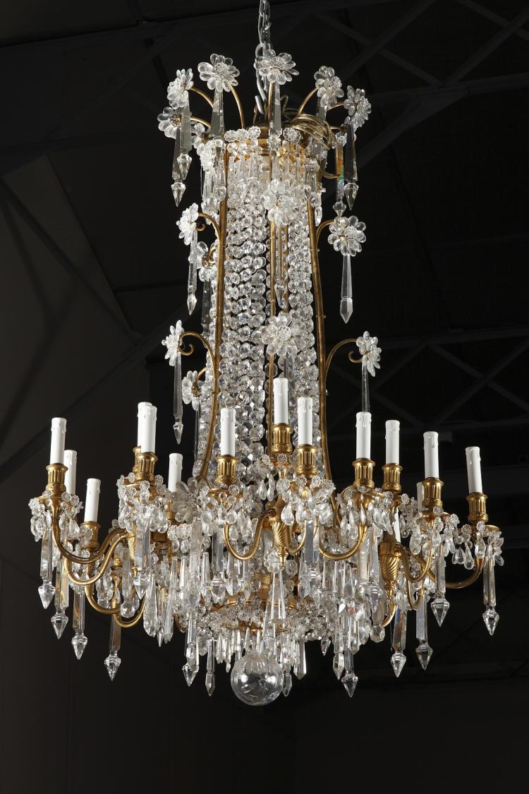 Baccarat crystal chandelier a baccarat crystal chandelier aloadofball Images