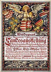 Poster: Landesausstellung Budapest