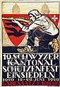 Poster: Schützenfest Einsiedeln