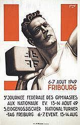 Poster: Journée de Gymnastique - Fribourg