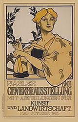 Poster: Basler Gewerbeausstellung
