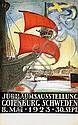 Poster: Ausstellung Gotenburg - Schweden