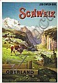 Poster: Schweiz - Oberland