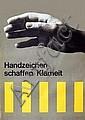 Poster: Handzeichen schaffen Klarheit