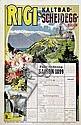 Poster: Rigi-Kaltbad-Scheidegg