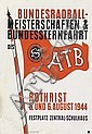Poster: Radball-Meisterschaften - Rothrist
