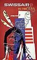 Poster: Swissair - USA