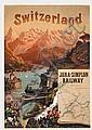 Poster: Jura-Simplon Railway