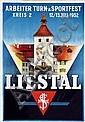 Poster: Arbeiter Turn- & Sportfest Liestal