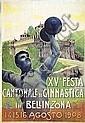 Poster: Festa di Ginnastica in Bellinzona