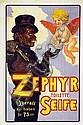 Poster: Zephyr Toilette Seife
