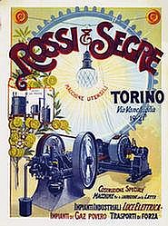 Poster: Rossi & Serge Torino