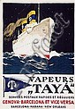Poster: Vapeurs ,,Tayà''