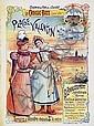 Poster: Chemin de Fer de l'Ouest - Plage Valentin