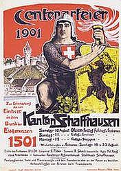 Poster - Centenarfeier Schaffhausen
