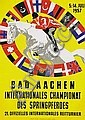 Poster - Internationales Championat Bad Aachen