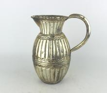 CHINESE SILVER PLATED POT