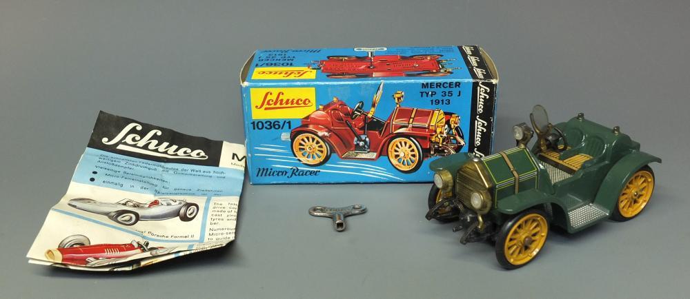 Repro Box Schuco Micro Racer 1036//1 Mercer Typ 35 J 1913