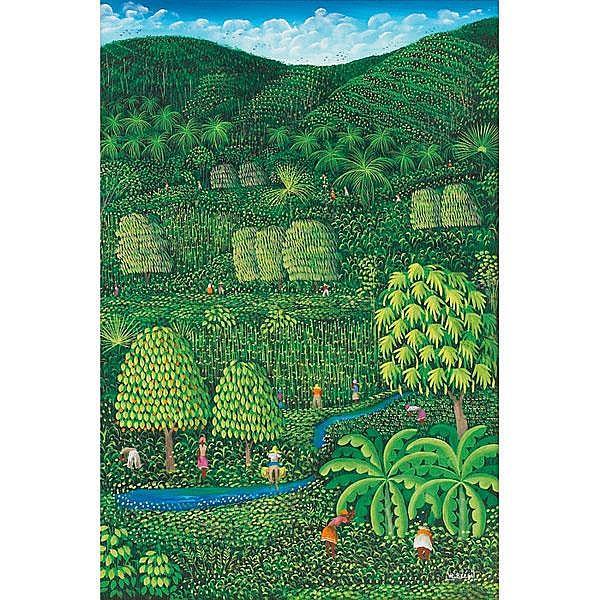 Henri Robert Bresil (Haitian, b. 1952)