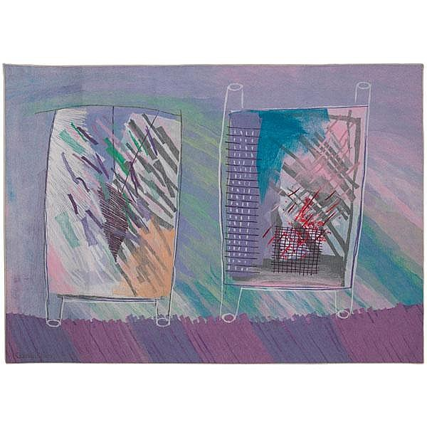 Calman Shemi textile art,