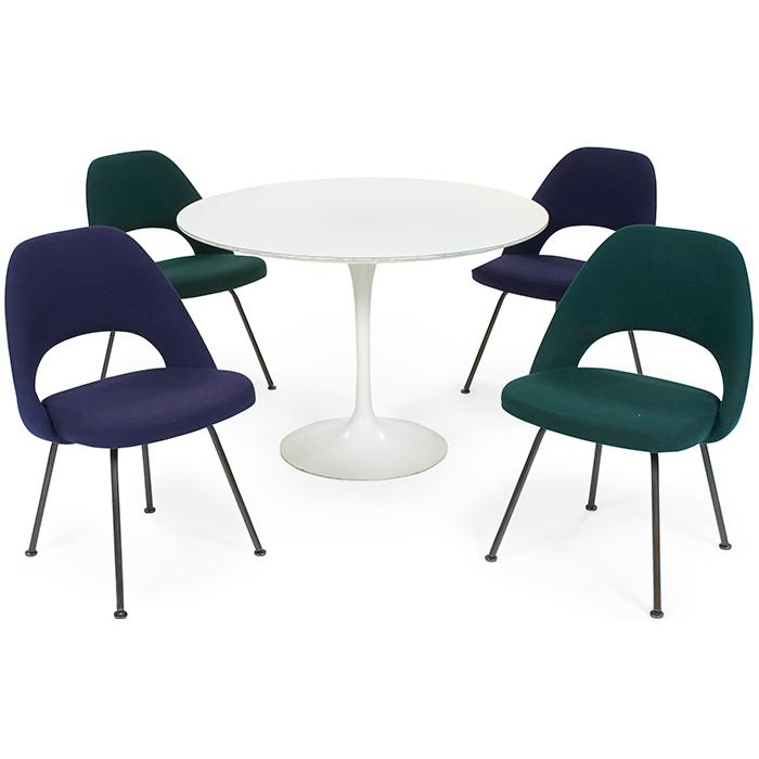 Eero saarinen 1910 1961 for knoll associates inc table a - Knoll inc chairs ...
